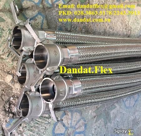 Ống nối mềm inox, Ống mềm inox chống rung, Khớp nối chống rung inox - 12