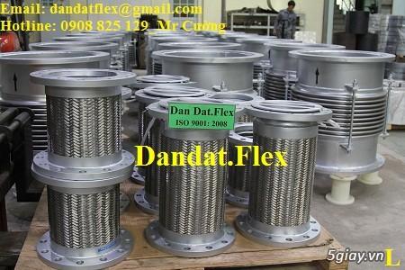 Ống nối mềm inox, Ống mềm inox chống rung, Khớp nối chống rung inox - 11