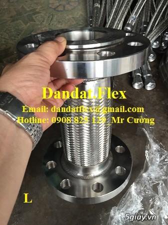 Ống nối mềm inox, Ống mềm inox chống rung, Khớp nối chống rung inox - 9
