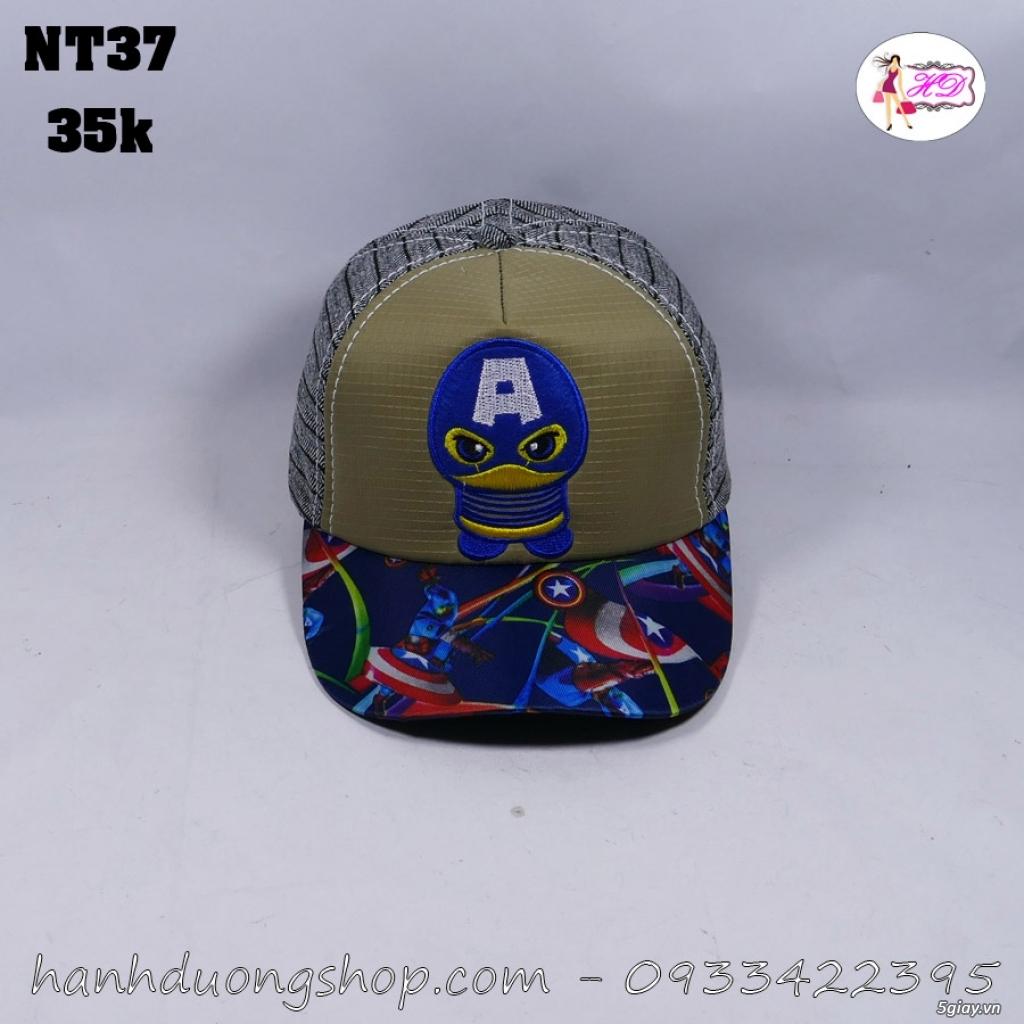 Nón trẻ em, mũ em bé thời trang giá rẻ quẹo lựa - 26