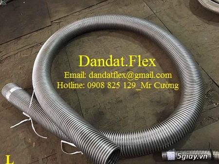 Ống nối mềm inox, Ống mềm inox chống rung, Khớp nối chống rung inox - 2