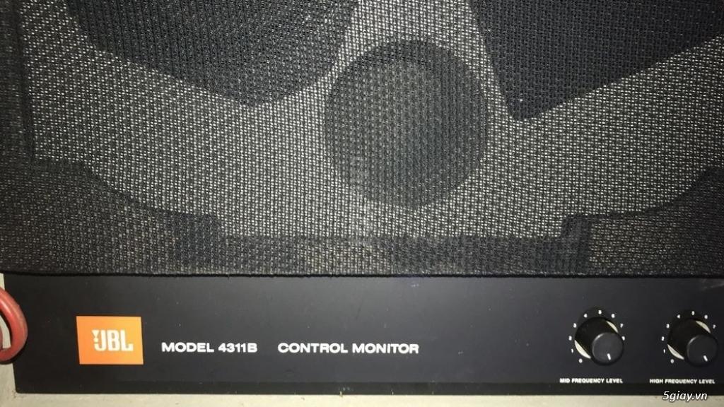 Loa JBL 4311b màu trắng Hiếm zin như mới - 1