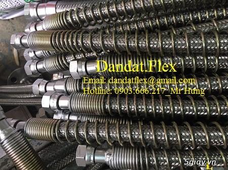 Ống nối mềm inox, Ống mềm inox chống rung, Khớp nối chống rung inox - 18