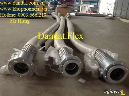 Ống nối mềm inox, Ống mềm inox chống rung, Khớp nối chống rung inox - 10