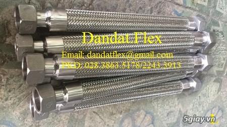 Ống nối mềm inox, Ống mềm inox chống rung, Khớp nối chống rung inox - 4