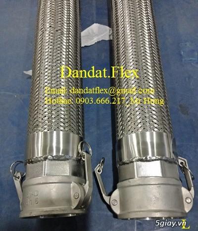 Ống nối mềm inox, Ống mềm inox chống rung, Khớp nối chống rung inox - 5