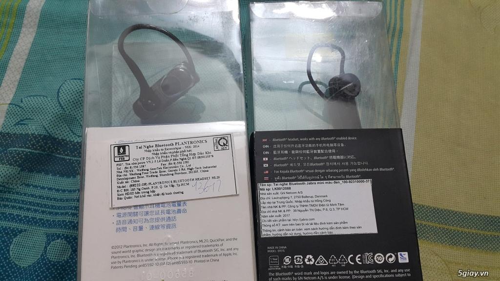Tai nghe đàm thoại bluetooth New 100%, End: 23h 14/11/19 - 1