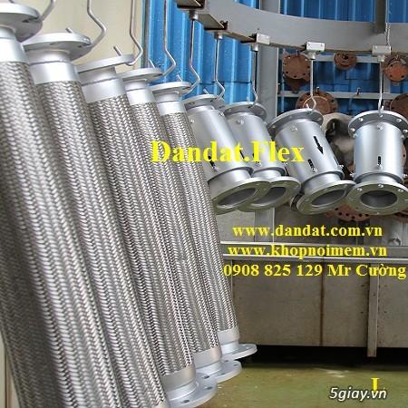 Ống nối mềm inox, Ống mềm inox chống rung, Khớp nối chống rung inox - 13
