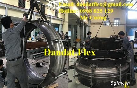 Ống nối mềm inox, Ống mềm inox chống rung, Khớp nối chống rung inox - 6
