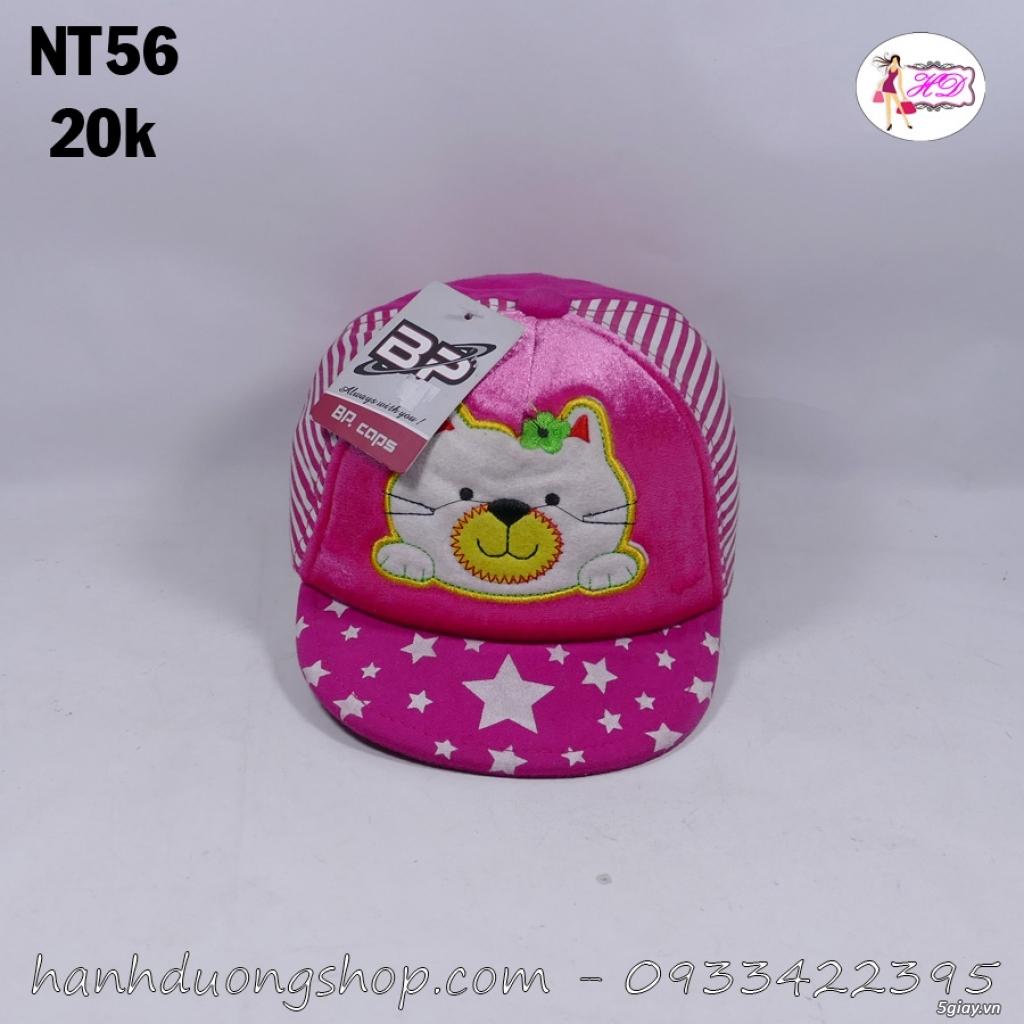 Nón trẻ em, mũ em bé thời trang giá rẻ quẹo lựa - 48