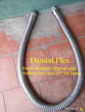 Ống nối mềm inox, Ống mềm inox chống rung, Khớp nối chống rung inox - 16