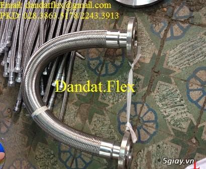Ống nối mềm inox, Ống mềm inox chống rung, Khớp nối chống rung inox - 17