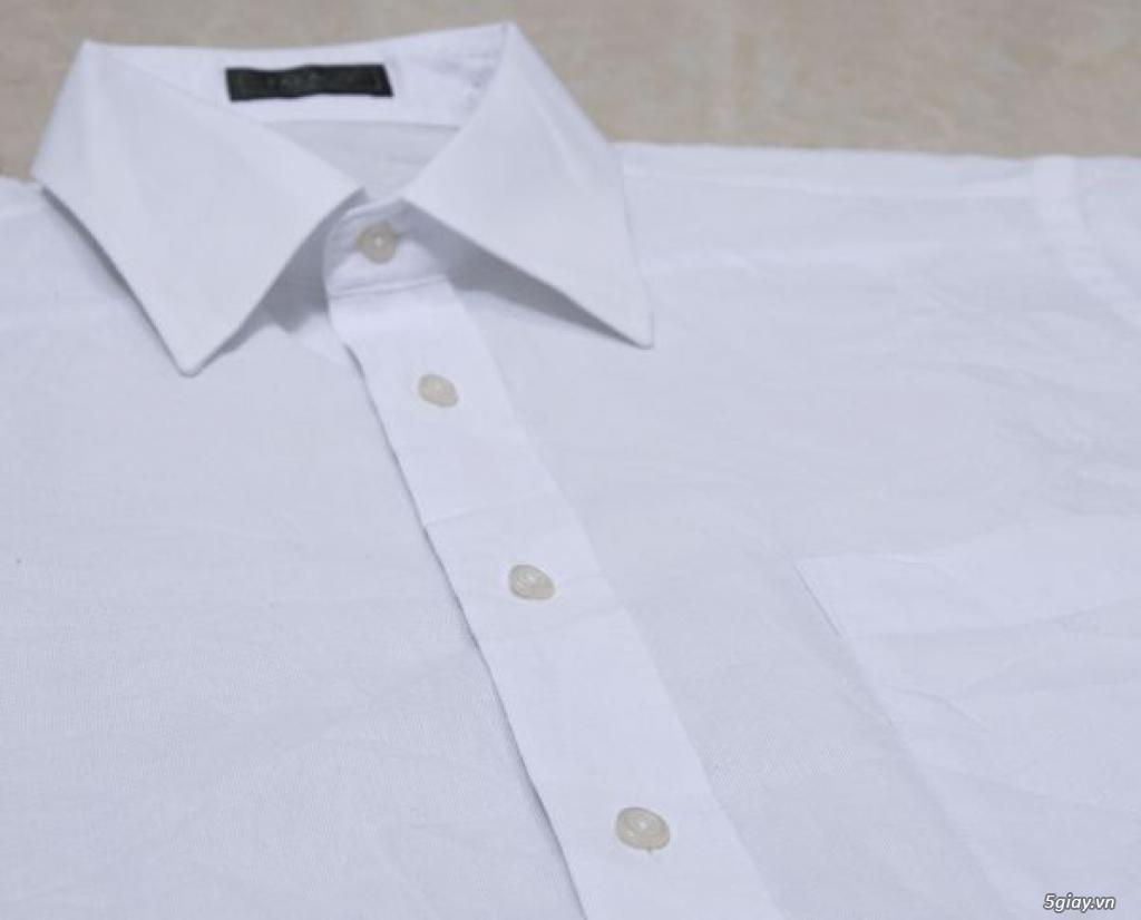 5 áo sơ mi trắng Japan chuẩn công sở mời anh em Bid khởi điểm 120k/ms ET 22h59' - 22/9/2019 - 2