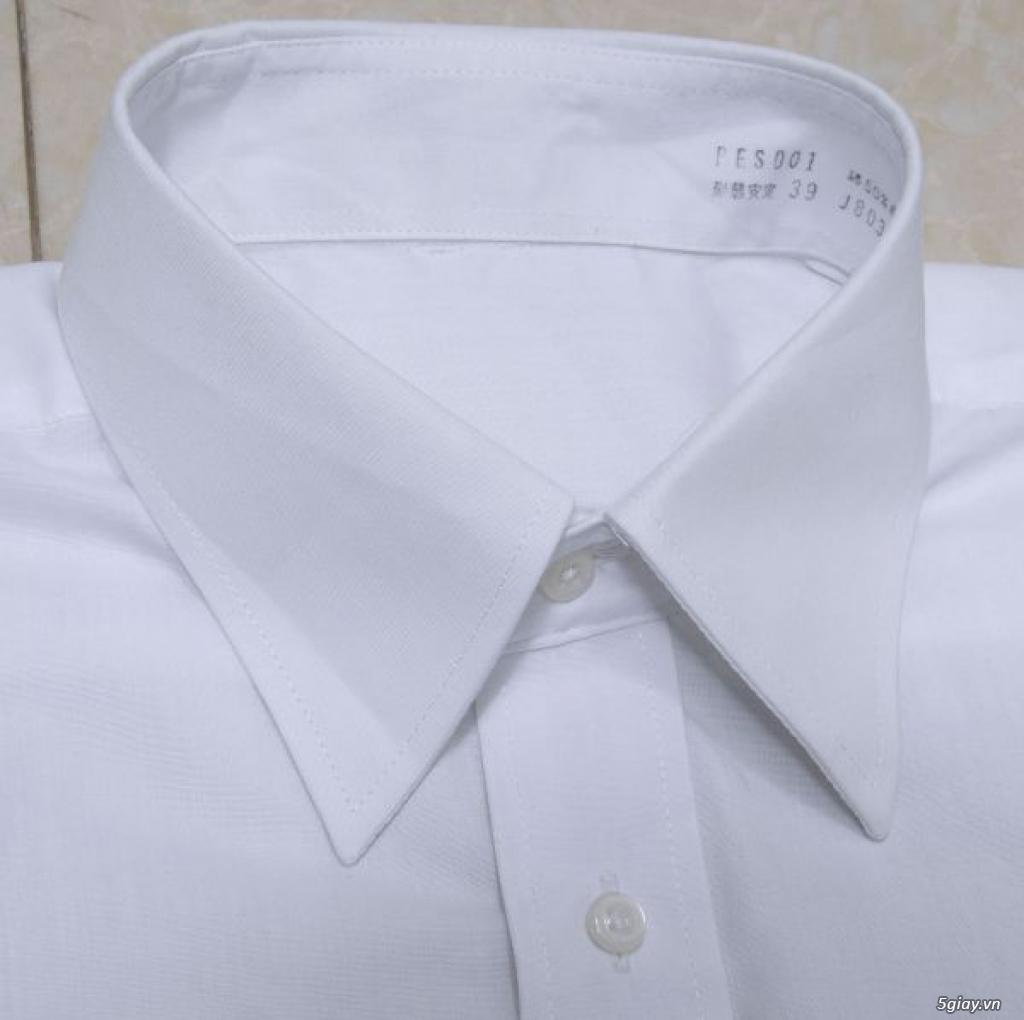 5 áo sơ mi trắng Japan chuẩn công sở mời anh em Bid khởi điểm 120k/ms ET 22h59' - 22/9/2019 - 4