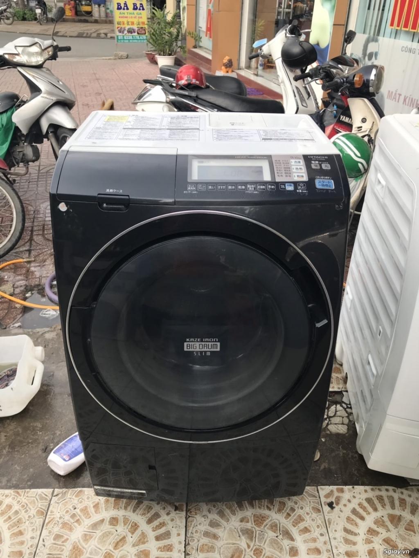 Máy giặt nội địa Hitachi  BD-S7400L 9KG,công nghệ sấy Heat recycle - 1