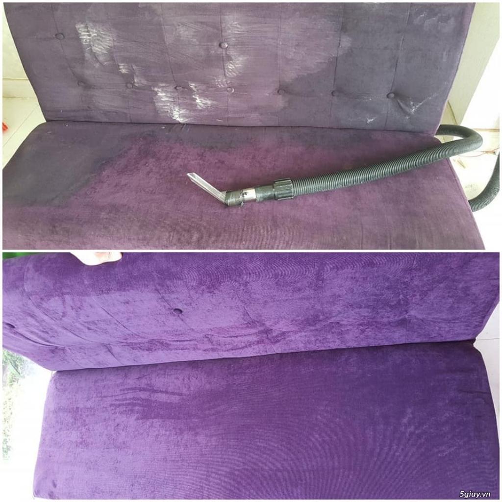 Vệ sinh nệm kymdan, vệ sinh ghế sofa tại nhà TPHCM, Bình Dương