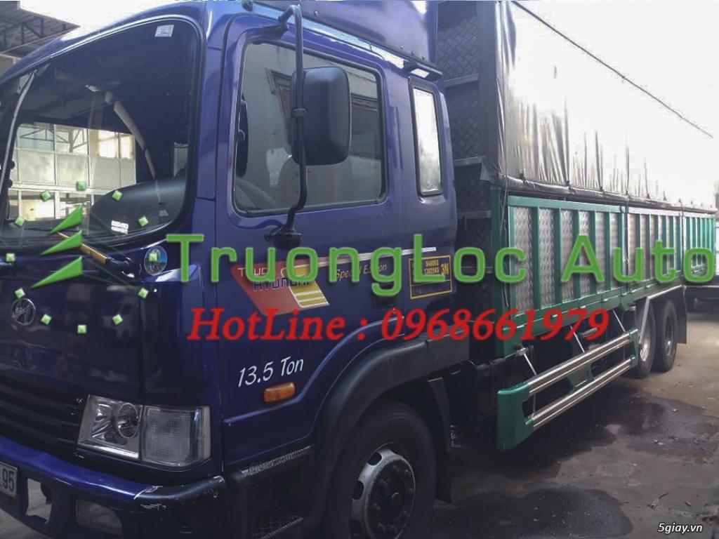 Cần bán xe tải huyndai HD 210 13 tấn thùng bạt