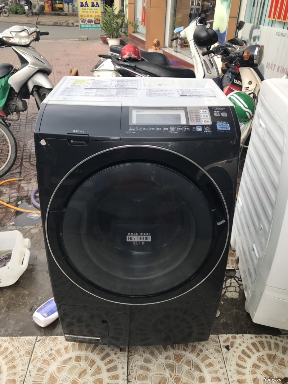 Máy giặt nội địa Hitachi  BD-S7400L 9KG,công nghệ sấy Heat recycle