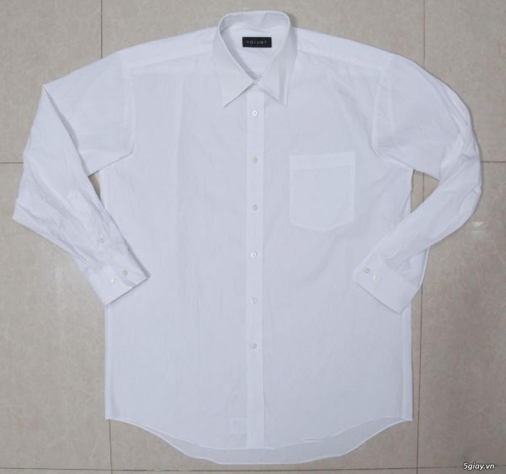 5 áo sơ mi trắng Japan chuẩn công sở mời anh em Bid khởi điểm 120k/ms ET 22h59' - 22/9/2019 - 9