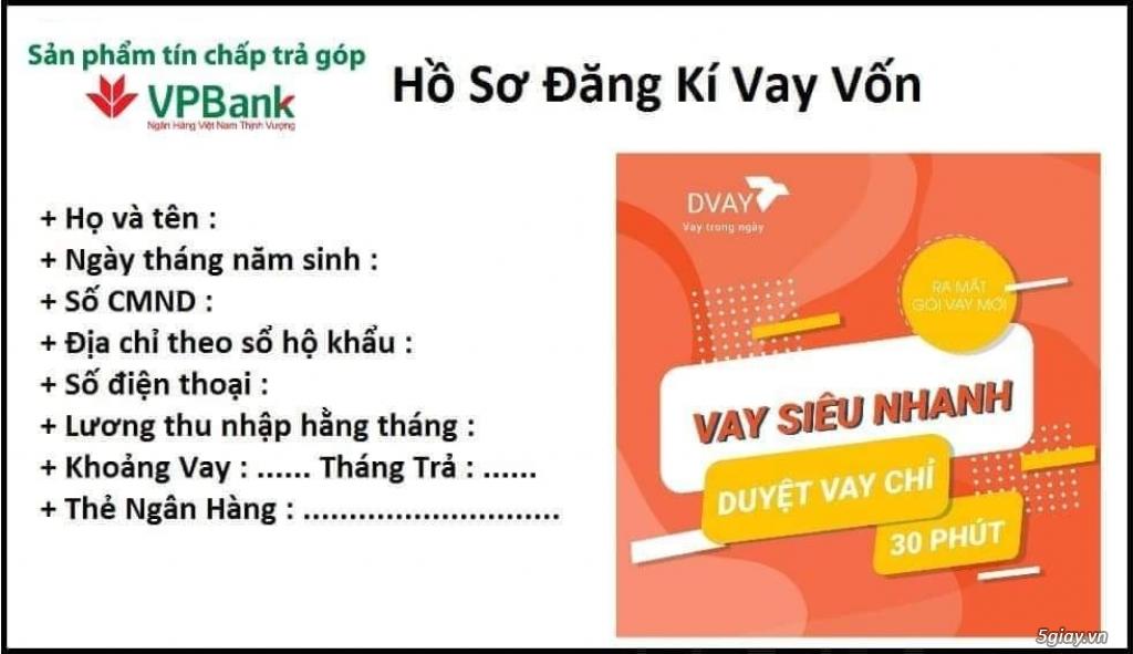 Hổ Trợ Vay Vốn VpBank Toàn Quốc