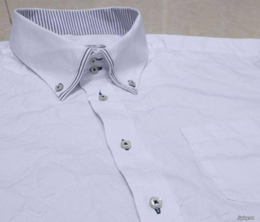 5 áo sơ mi trắng Japan chuẩn công sở mời anh em Bid khởi điểm 120k/ms ET 22h59' - 22/9/2019 - 15