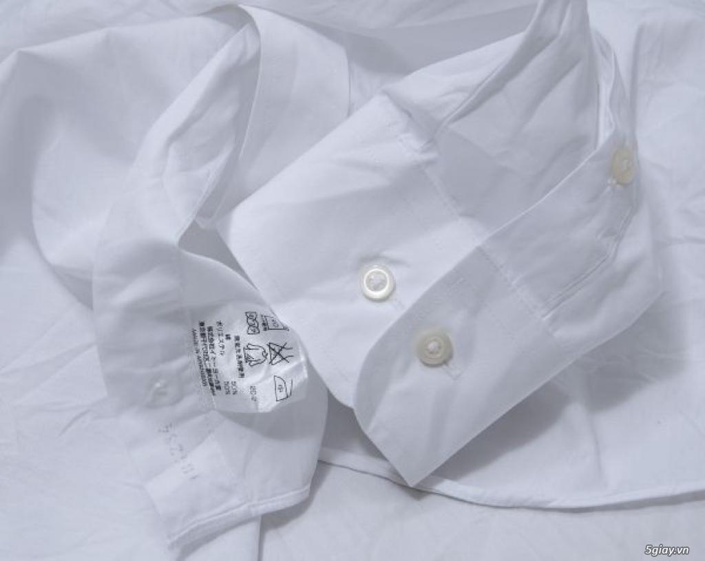 5 áo sơ mi trắng Japan chuẩn công sở mời anh em Bid khởi điểm 120k/ms ET 22h59' - 22/9/2019 - 12