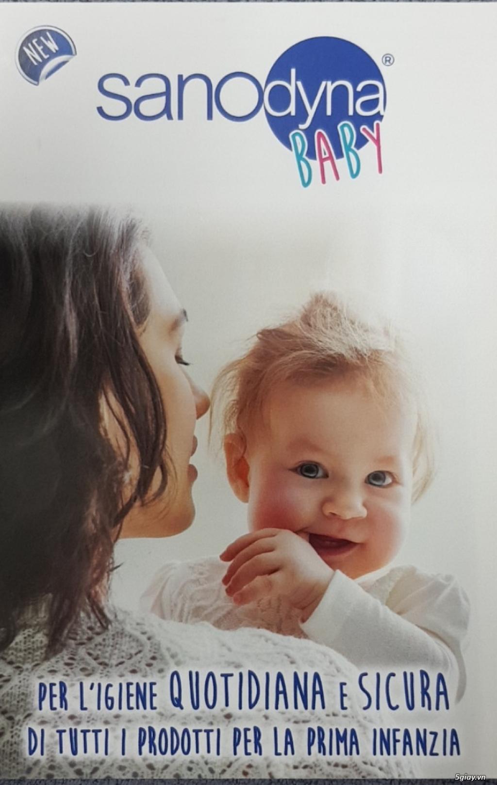 Dung dịch khử trùng tự nhiên cho mẹ và bé