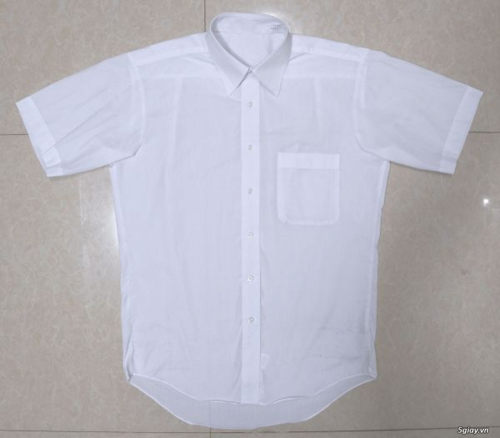 5 áo sơ mi trắng Japan chuẩn công sở mời anh em Bid khởi điểm 120k/ms ET 22h59' - 22/9/2019 - 3