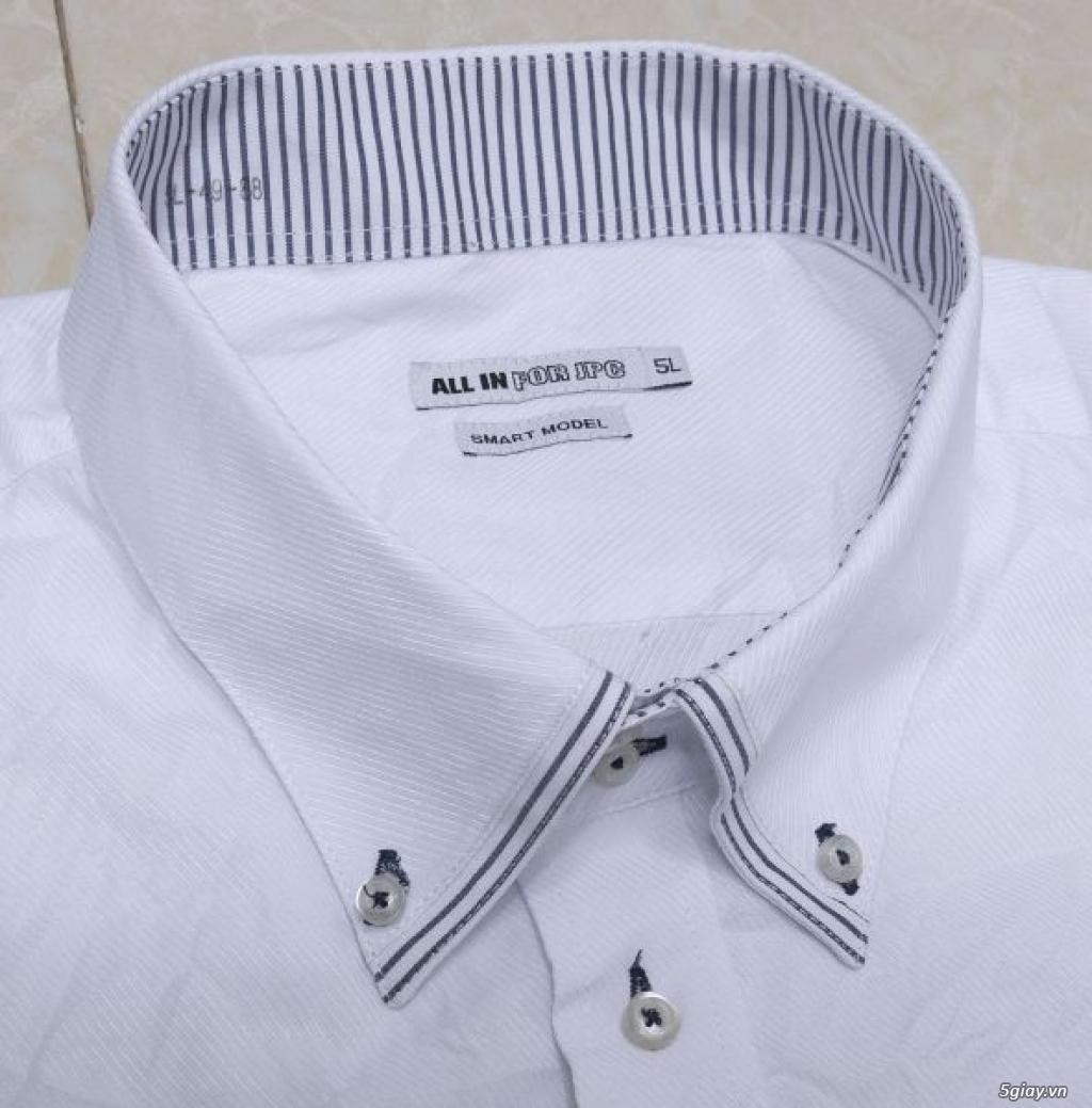 5 áo sơ mi trắng Japan chuẩn công sở mời anh em Bid khởi điểm 120k/ms ET 22h59' - 22/9/2019 - 14