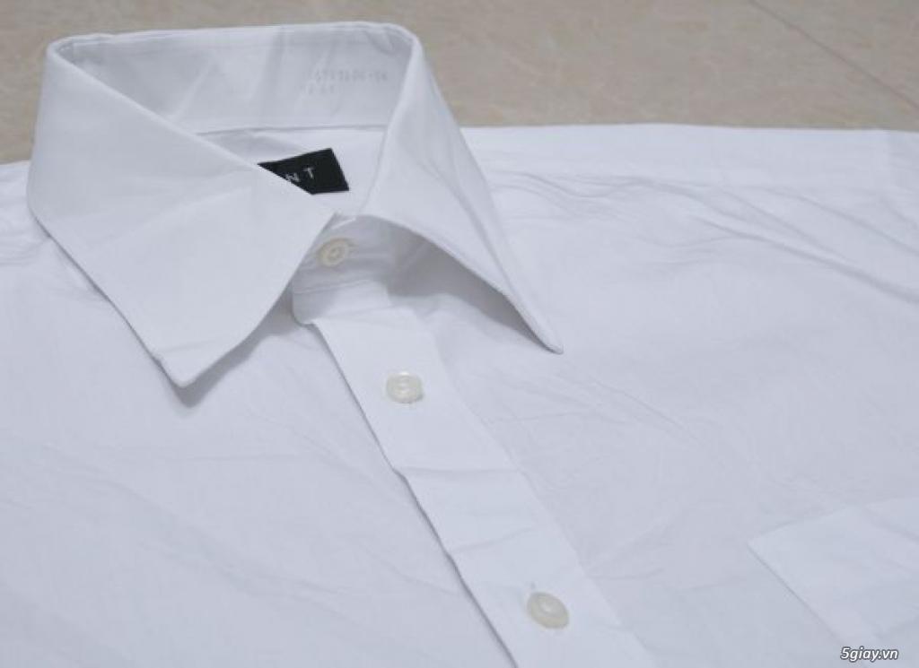 5 áo sơ mi trắng Japan chuẩn công sở mời anh em Bid khởi điểm 120k/ms ET 22h59' - 22/9/2019 - 11