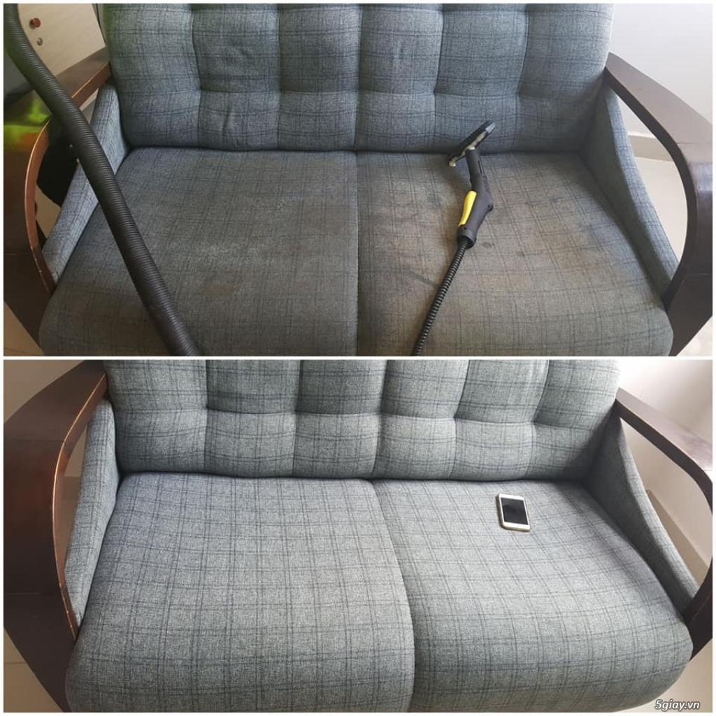 Vệ sinh nệm kymdan, vệ sinh ghế sofa tại nhà TPHCM, Bình Dương - 1