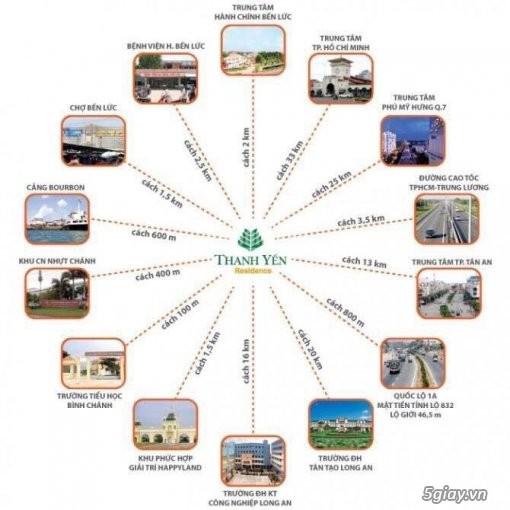 Cần bán : Đất nền biệt thư dự án Thanh Yến Residence-1.7tỷ - 5