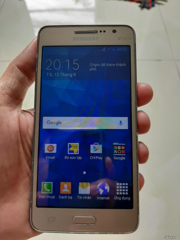 Samsung Galaxy Grand prime vàng gold pin trâu
