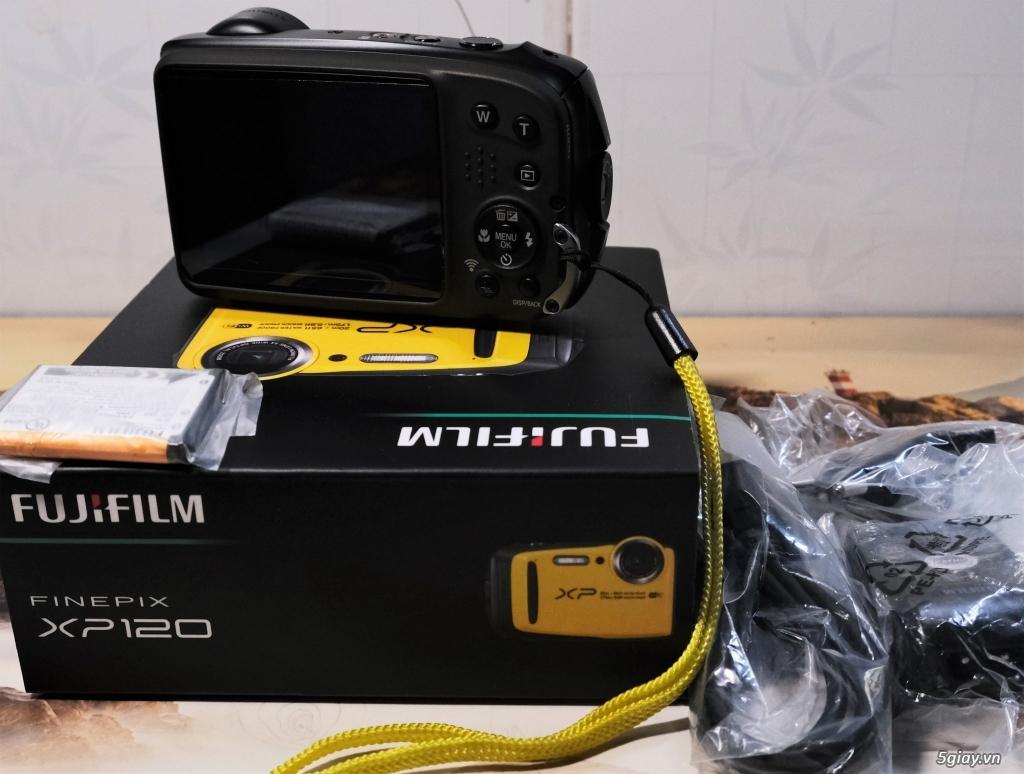 Bán máy chụp dưới nước Fujifilm XP120 vàng 99.9%