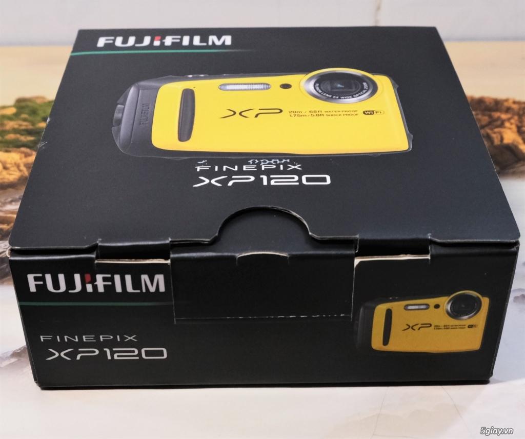 Bán máy chụp dưới nước Fujifilm XP120 vàng 99.9% - 2