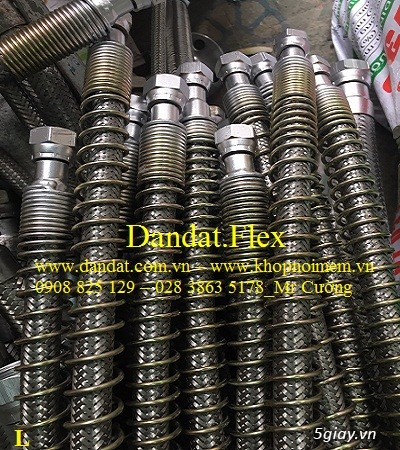 Khop noi mem - Khớp nối mềm - Khớp nối mềm inox 304 - Mối nối mềm inox - 15