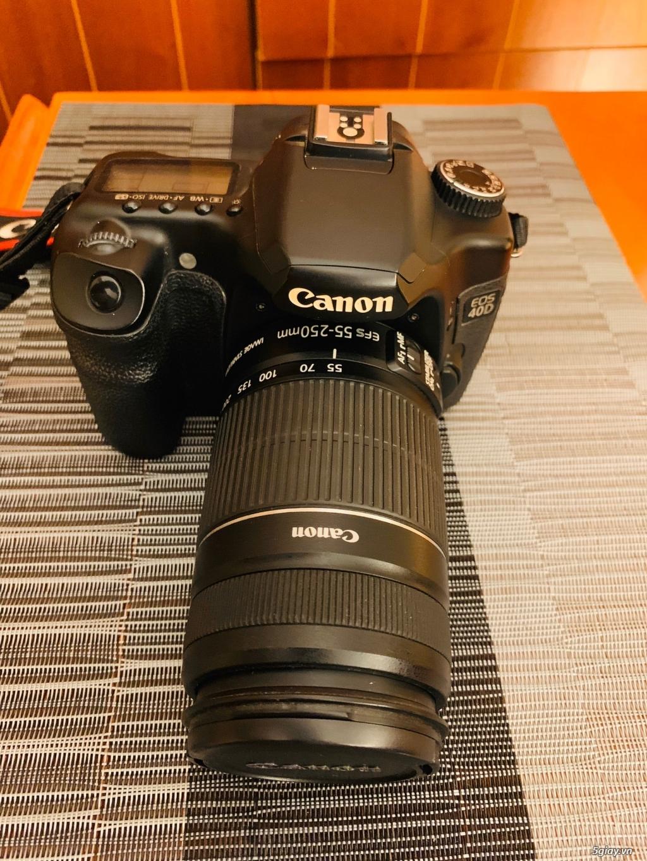 Cần bán body canon 40D likenew nguyên zin nữ dùng - 1