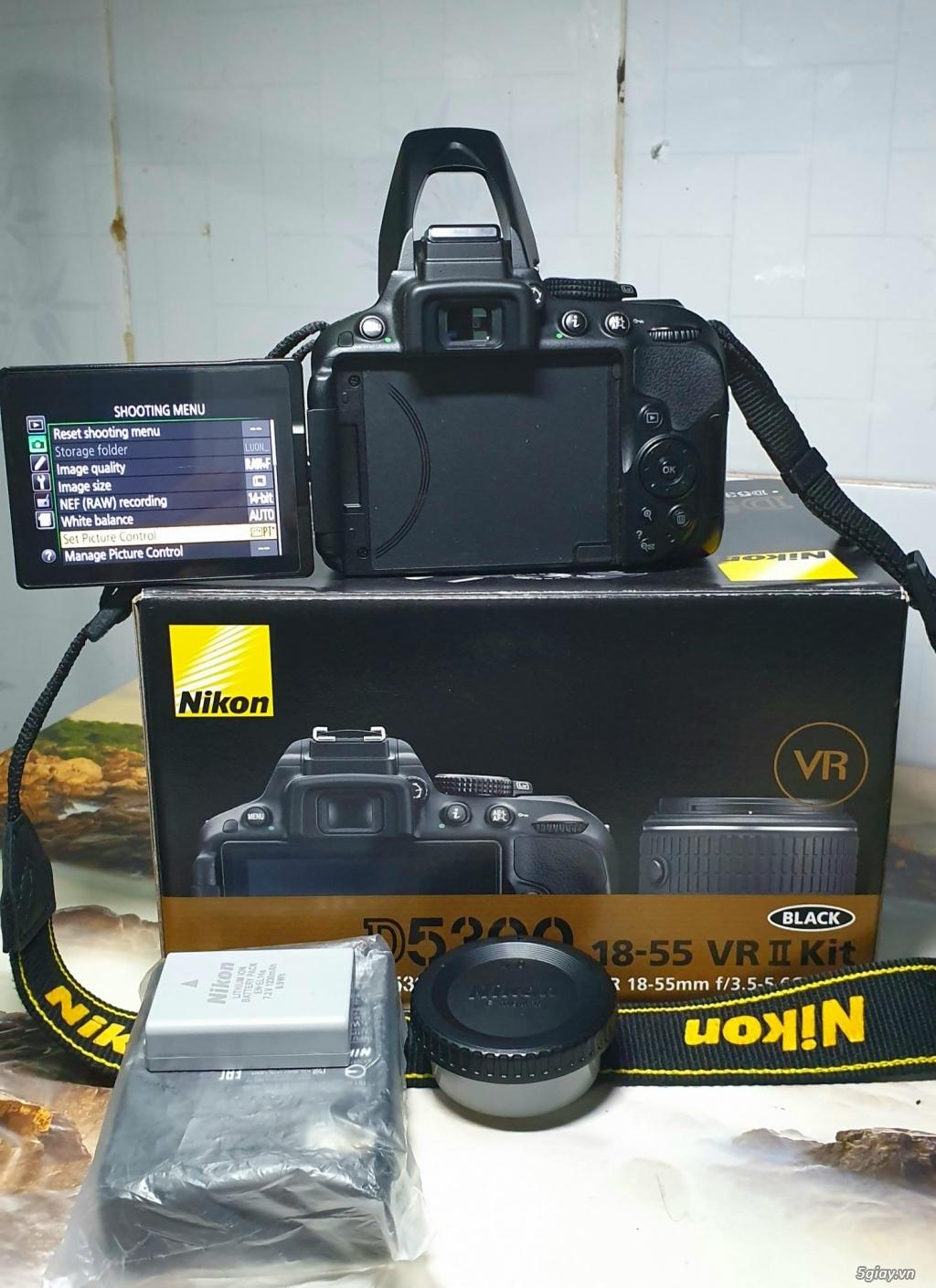 Cần bán máy ảnh Nikon D5300 kit AFS 18-55 VR