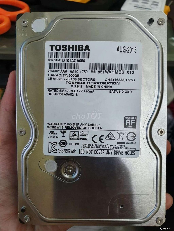 Ổ cứng HDD Toshiba 500GB 3.5 inch cho máy để bàn