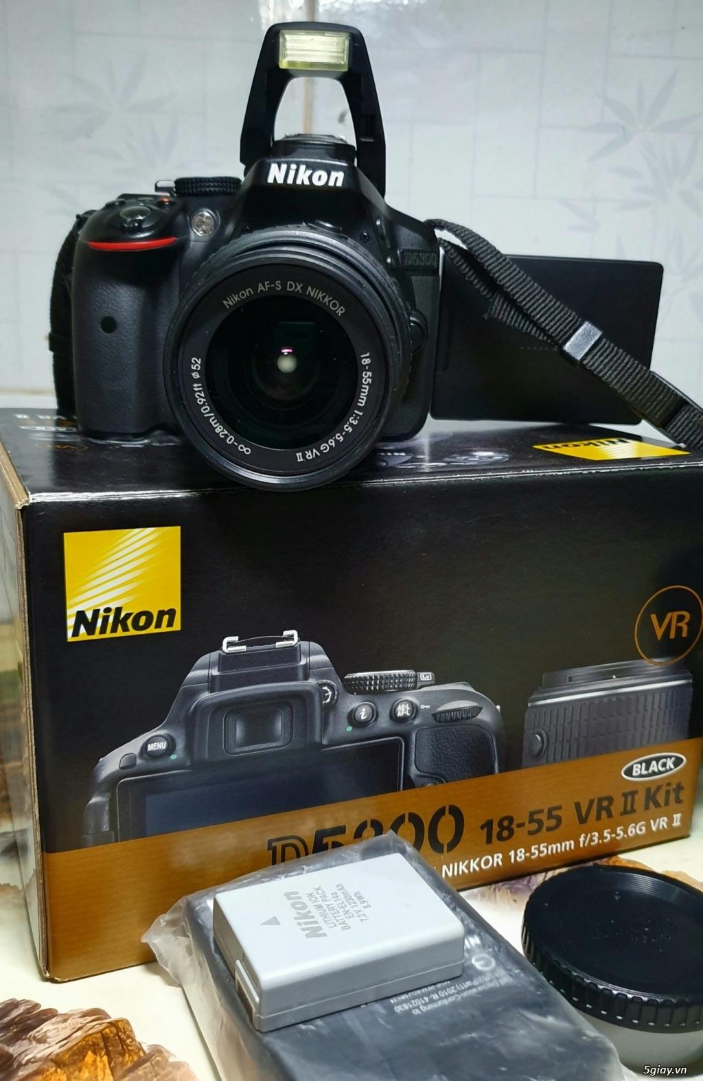 Cần bán máy ảnh Nikon D5300 kit AFS 18-55 VR - 2