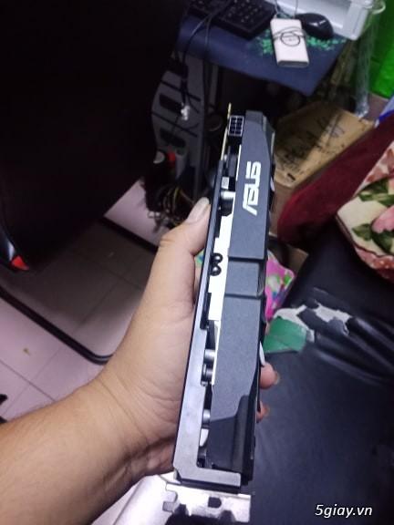 VGA 580 4gb asus dual bh hãng tháng 5/2020