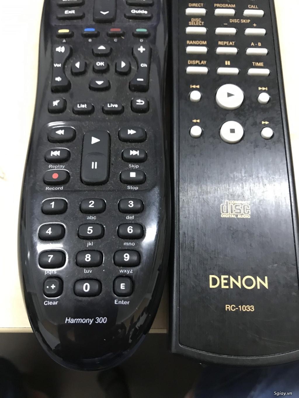 (USA) Remote điều khiển âm thanh Logitech Harmony 300 và Denon RC-1033 - 4