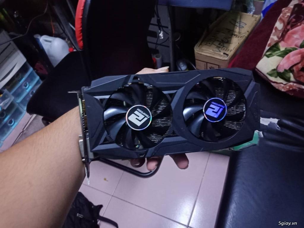 VGA 580 4gb power color bh hãng t5 2020 - 2