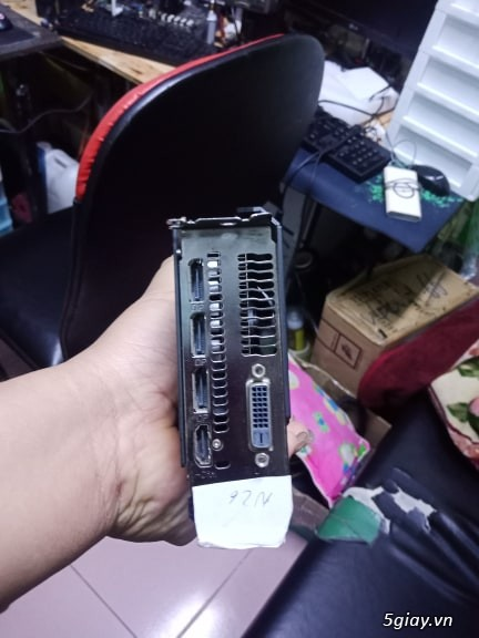 VGA 580 4gb power color bh hãng t5 2020