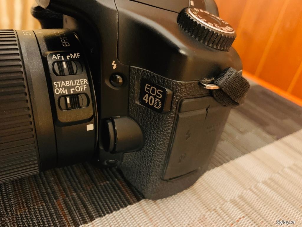 Cần bán body canon 40D likenew nguyên zin nữ dùng