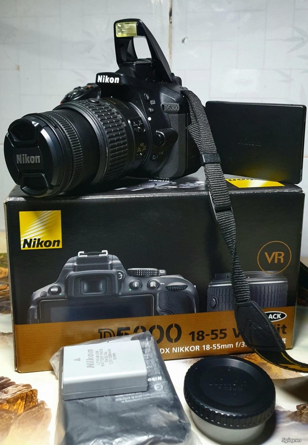 Cần bán máy ảnh Nikon D5300 kit AFS 18-55 VR - 1