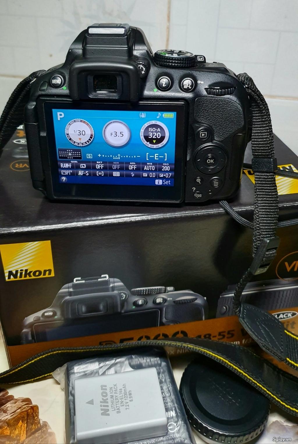 Cần bán máy ảnh Nikon D5300 kit AFS 18-55 VR - 3