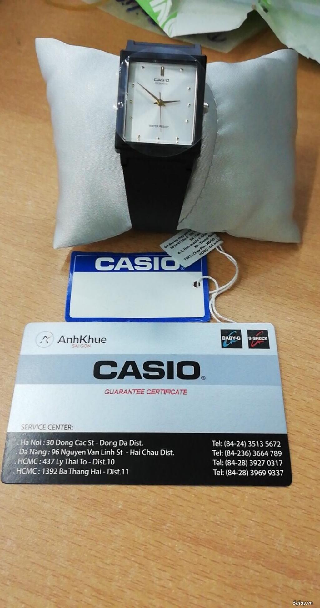 Đồng hồ Casio MQ-38-7A chính hãng, mới 100% End: 23h 03/10/19 - 1