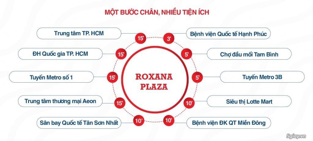 Bán căn hộ Bình Dương Roxana Plaza 2PN 1,3 tỉ - 1