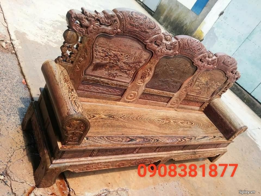 salon phòng khách gỗ quý giá cực rẻ ( xem hàng tại xưởng ) - 9